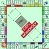 Monopoly spelbord van  50 x 50 centimeter