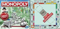 Monopoly spelbord 50 x 50 cm met doos