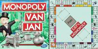 Monopoly spelbord 50 x 50 cm met gepersonaliseerde doos